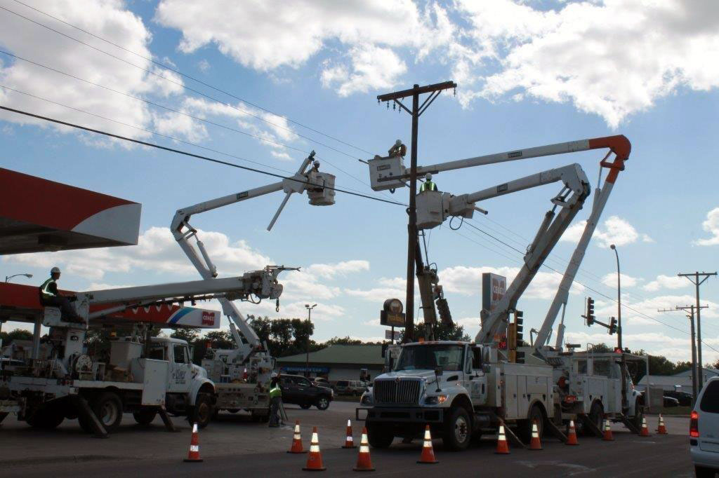 Key Contracting Power Line Construction